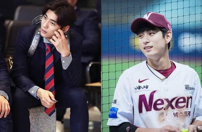韓國棒球男神李政厚多次登上媒體版面。(圖/翻攝自李政厚IG)