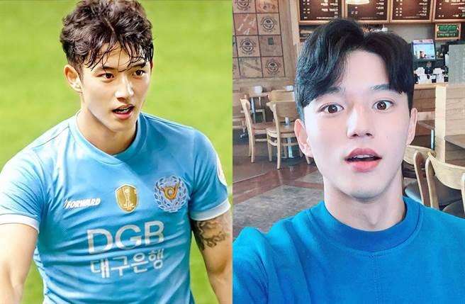 韓國足球男神鄭勝元是下屆世界盃的一大焦點。(圖/翻攝自鄭勝元IG)
