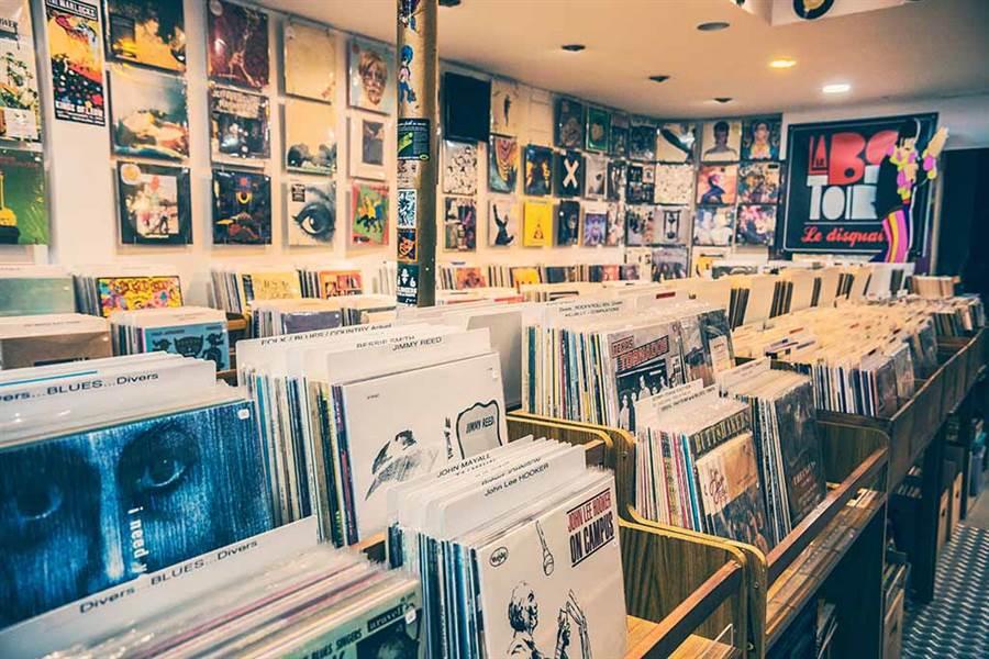 這間唱片行不賣音樂 竟說鬼故事?(示意圖/非當事唱片行/達志影像)