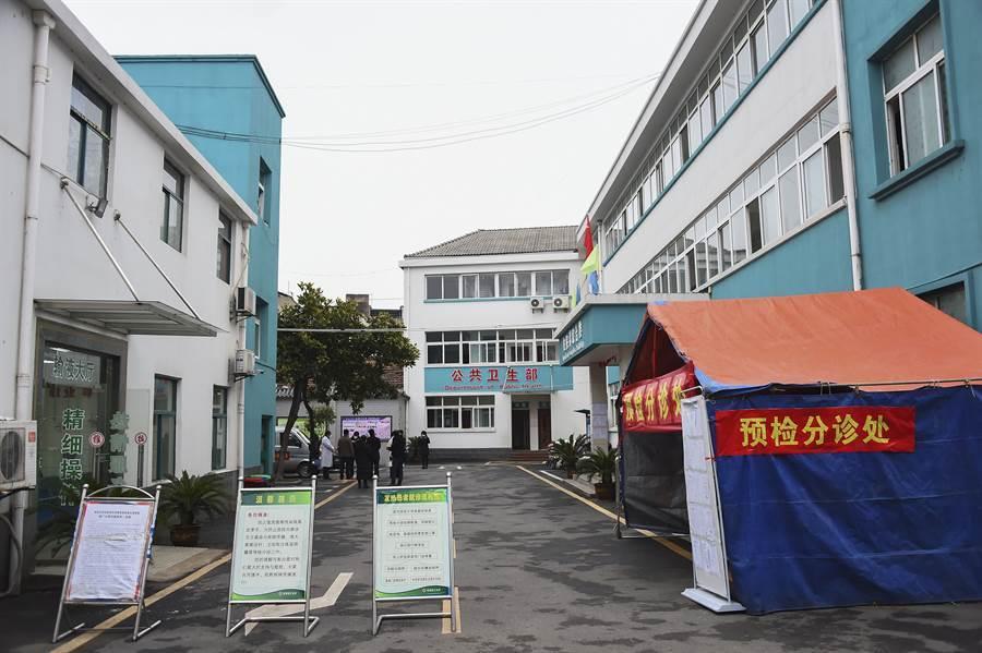 武漢隔離醫院。(圖/新華社)