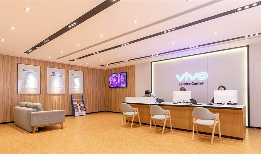 vivo客戶服務中心搬遷至新北市三重,新址場地將更寬敞舒適。(vivo提供/黃慧雯台北傳真)