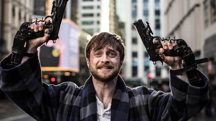 「哈利波特」丹尼爾雷德克里夫在《玩命Online》,單挑《弒婚遊戲》的惡女薩瑪拉威明。(金馬執委會提供)