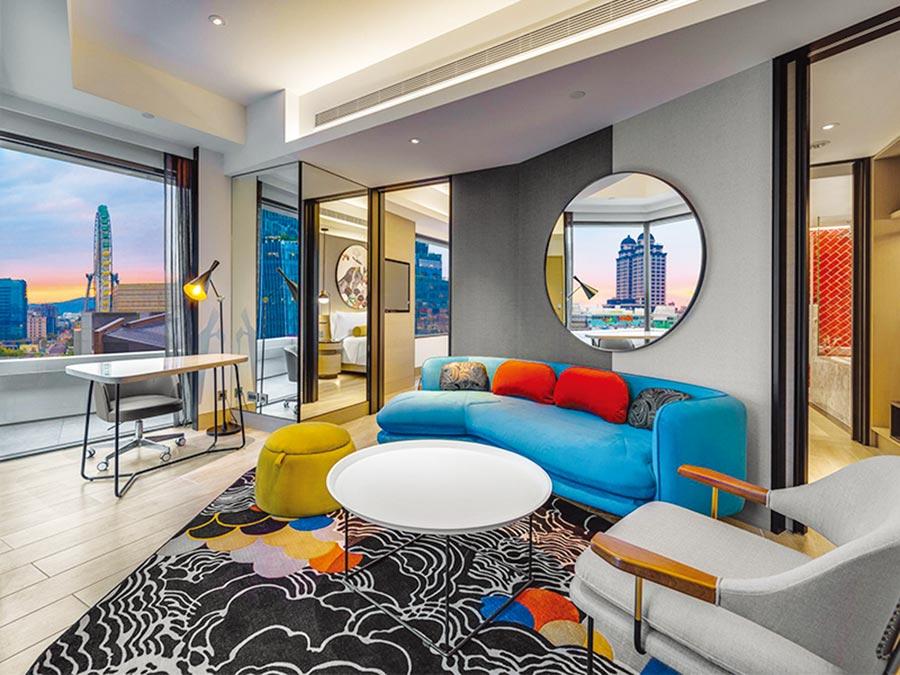 台北大直英迪格酒店。圖/易遊網提供