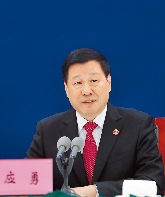 湖北省委書記應勇感謝,武漢人民在疫情中的犧牲奉獻。(中新社)