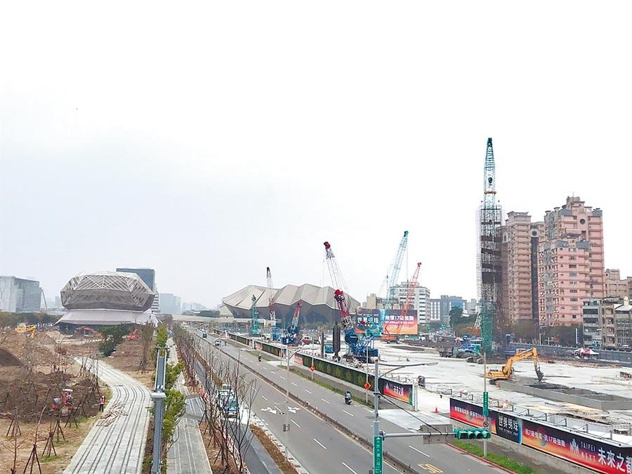 北市府3月4日上網公告「南港生態綠廊」工程先期規畫案招標。(譚宇哲攝)