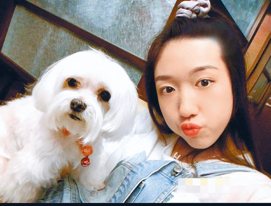 王敏淳推出首支單曲〈和你一起〉,唱出和愛犬間溫暖回憶。(王敏淳提供)
