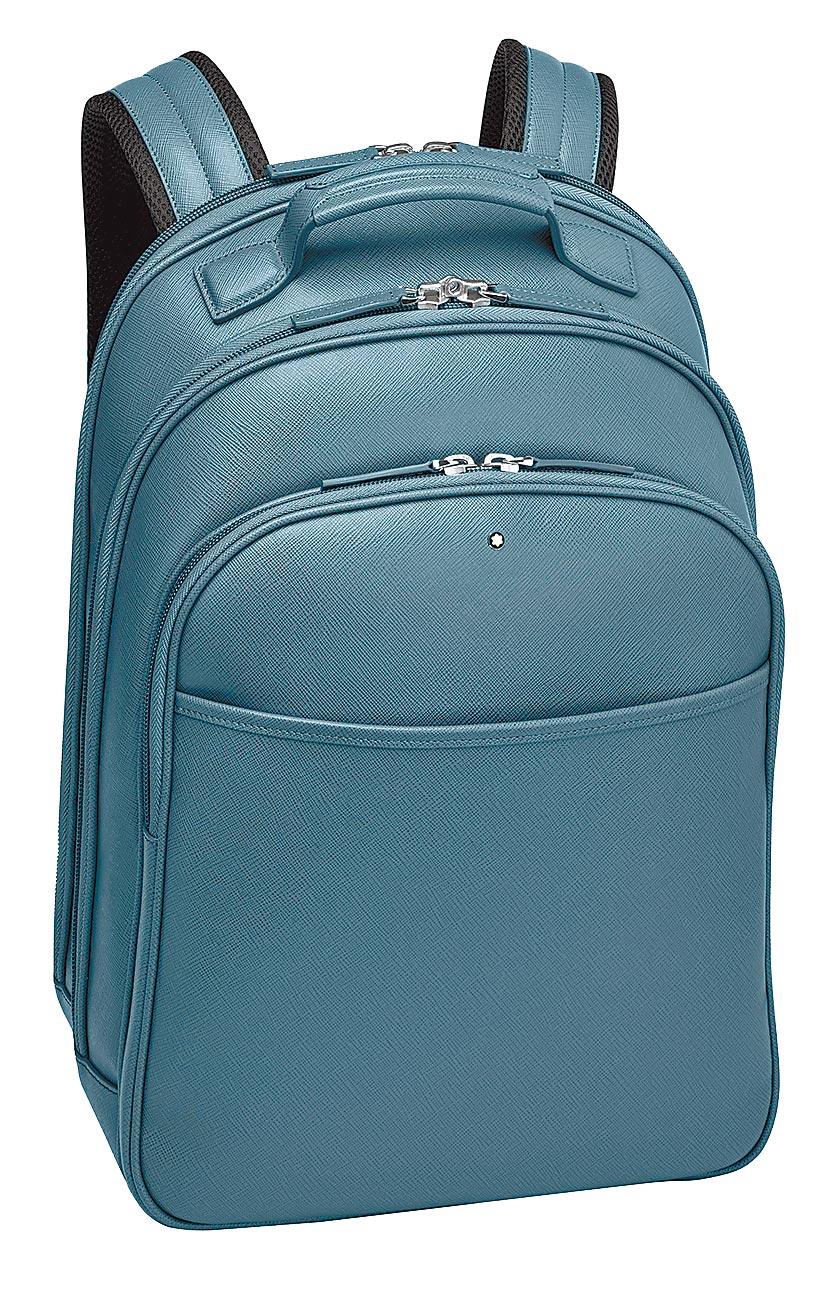 萬寶龍匠心系列小型後背包,2萬8500元。(Montblanc提供)