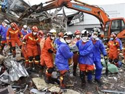 泉州欣佳酒店坍塌已釀27死 2人受困待援