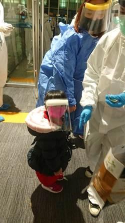 台灣13醫護接機 全程憋尿10小時、抵台要隔離14天