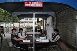防警局淪疫區 新莊警設置20套隔離衣「戶外偵詢」