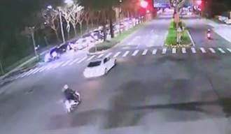 酒駕男拒絕攔檢企圖衝撞 警開6槍射破輪胎逮人