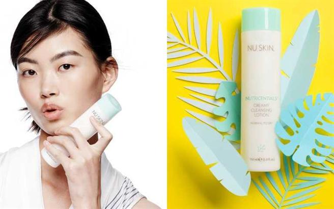 NU SKIN薈萃善秀系列保濕潔面乳霜150ml/630元 (圖/品牌提供)