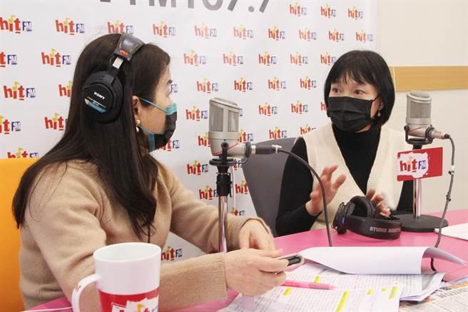 楊翠接受周玉蔻訪訪問。(圖/周玉蔻嗆新聞提供)