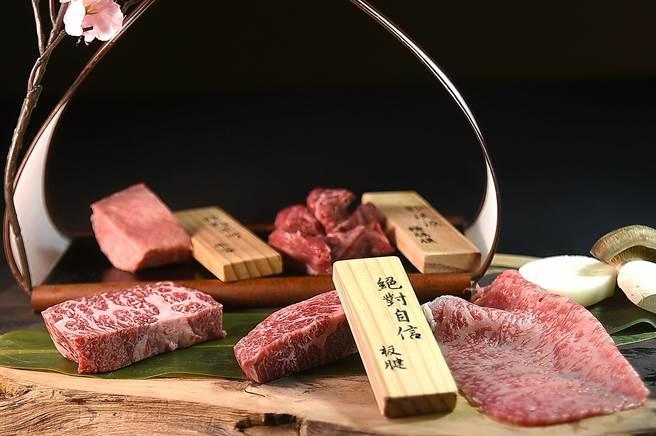 位在台北晶華酒店B3的〈樂軒和牛割烹〉,不只和牛的部位選擇很多,和牛的烹調料理方式的多樣性也力拚市場之最。(圖/姚舜)