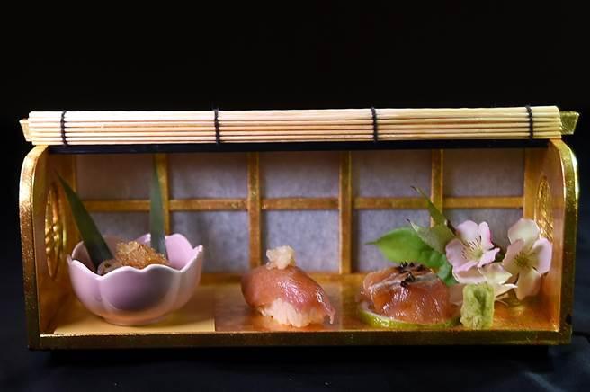 除了各式和牛料理,〈樂軒和牛割烹〉的套餐係比照懷石或會席料理規格,並會搭配其它精緻日本料理菜色。(圖/姚舜)