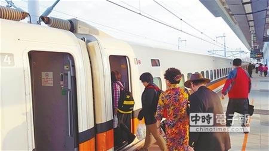 抗疫衝業績,格上租車偕高鐵推最優惠租車專案。圖為台灣高鐵。(本報資料照)