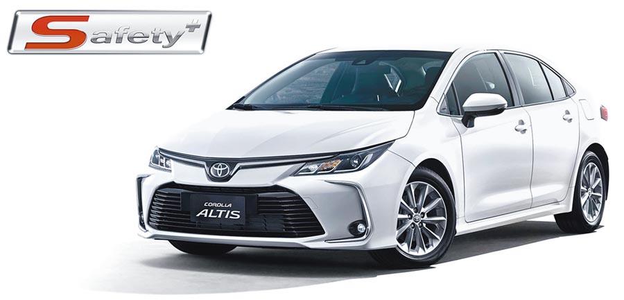 和運導入ALTIS Safety+車款,高度整合智慧行車科技。(和運租車提供)