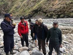 2男泰安野溪溫泉受困 空拍機吉普車救援