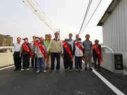台南南化北平里聯外尖山橋重建 趕在汛期、芒果季前完工通車