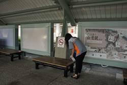 臺東火車站與超商  捲袖攜手做防疫