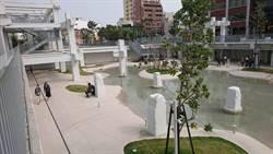 剛啟用屢遭破壞 市府著手規畫河樂廣場維護機制