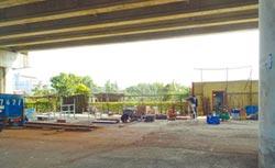 西濱高架橋下 將設遊樂設施