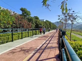 騎車抗疫!  觀旅局打造草湖溪北岸自行車路網