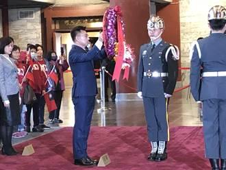 江啟臣談改革 馬:一中各表 讓對岸正視中華民國