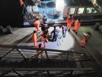 台中電廠出水口漁筏船長落海 傍晚尋獲遺體