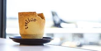 紐西蘭航空倡環保 推餅乾咖啡杯