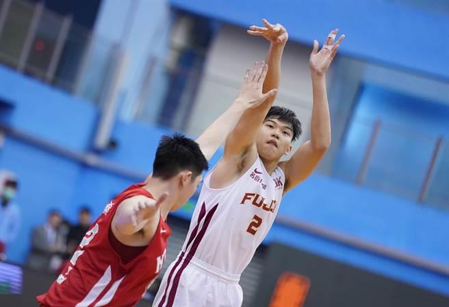 輔大大四長人曾祥鈞,希望用UBA冠軍為大學生涯留下美好回憶。(資料照/大專體總提供)