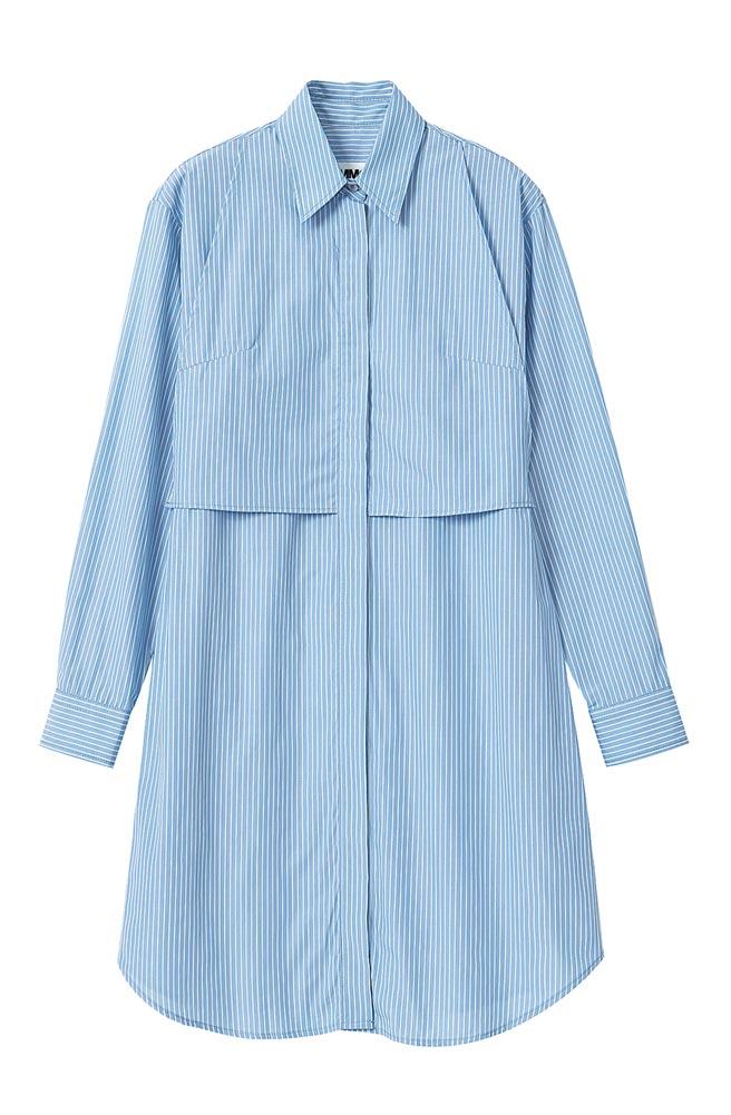 微風南山MM6襯衫洋裝,1萬7800元。(微風提供)