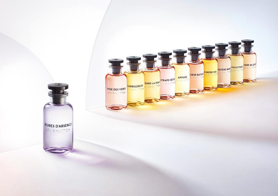 路易威登全新香氛Heures d'Absence香水系列。(路易威登提供)