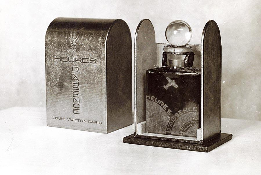 1920年代第一瓶Heures d'Absence。(路易威登提供)
