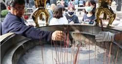 拜拜不燒香 艋舺龍山寺3月13日起「禁香」