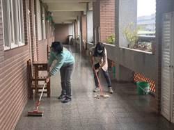 校園淨空全面消毒?原來是師生在練習「停課」
