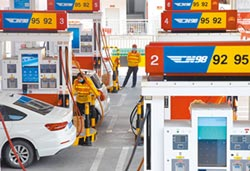 國際油價大跌 兩岸汽柴油齊降