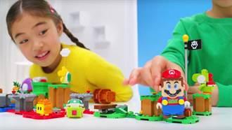 LEGO攜手任天堂 推出《瑪利歐兄弟》積木遊戲