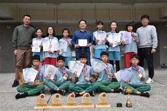 竹南照南國小勇奪青年杯田徑賽總冠軍