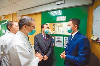 新竹馬偕新冠肺炎實驗室 啟用
