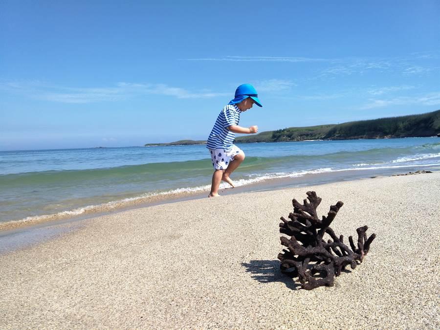美麗海灘讓人忘卻煩惱。圖:五福提供