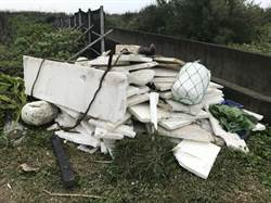 豬鼻子沙灘遭亂丟垃圾 環保局打擊不法汙染