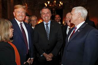川普危機四伏!巴西駐美大使中鏢 曾與他共進晚宴