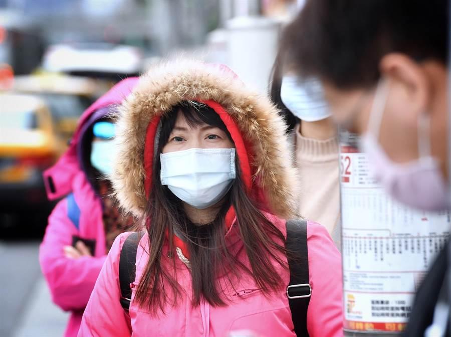 氣象專家吳德榮表示,今午起天氣轉乾冷,且愈晚愈冷。(資料照片 中央社)