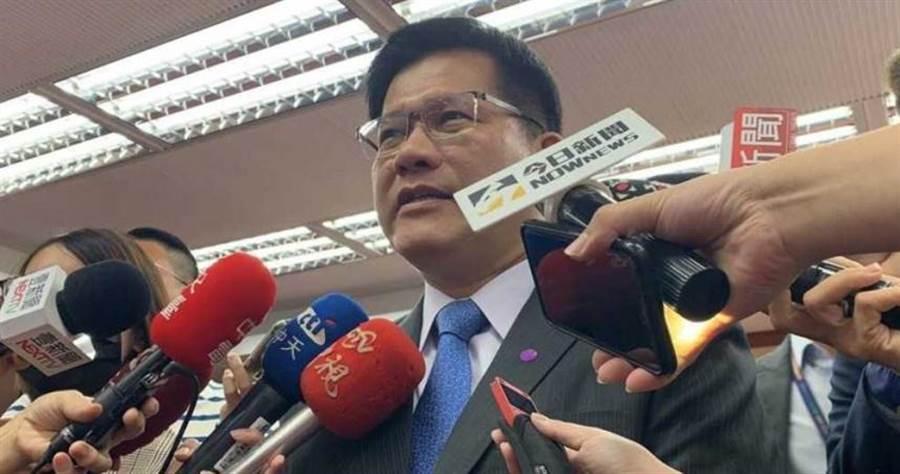 林佳龍呼籲中市府別對抗中央,應該繼續溝通合作。(圖/中時資料庫、臉書)