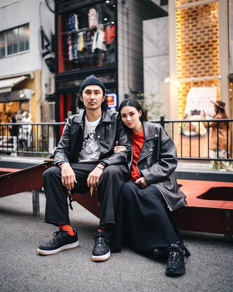歐陽靖和日本老公交往5年。取自臉書