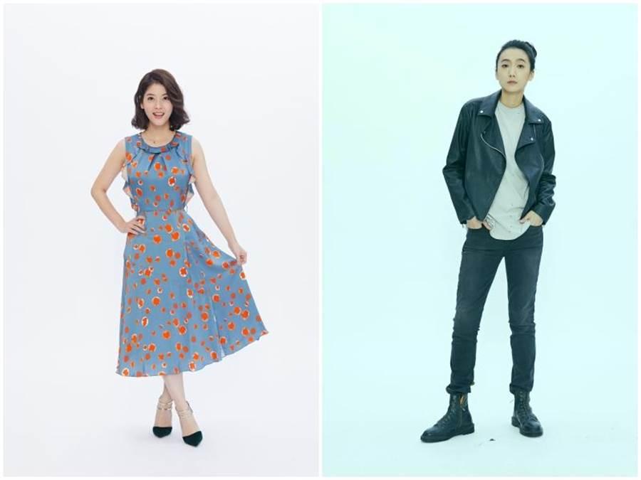 王樂妍(左)和小8。(故事工廠提供)