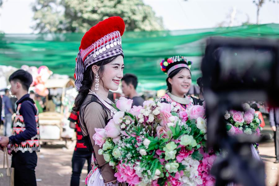 越南正妹穿赫蒙族傳統服飾結婚(示意圖/非當事人/達志影像)
