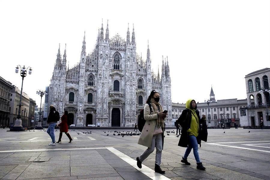 新冠肺炎大流行,歐洲疫情急遽升溫。(美聯社)