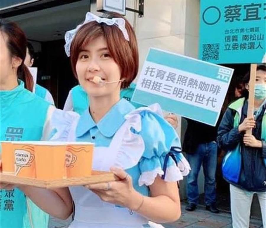 蔡宜芳目前被民眾黨處以停止黨權1年處分。(圖/摘自蔡宜芳臉書)